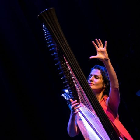 interview: Alina Bzhezhinska \\ The jazz harp renaissance