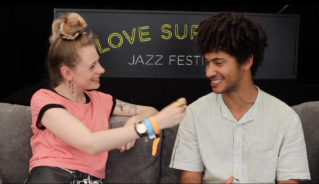 WATCH \\ Interview: Skinny Pelembe on touring and new music, at Love Supreme