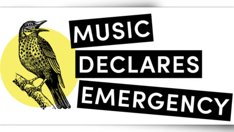 Music Declares Emergecy: Musicians and organisations come together against climate change
