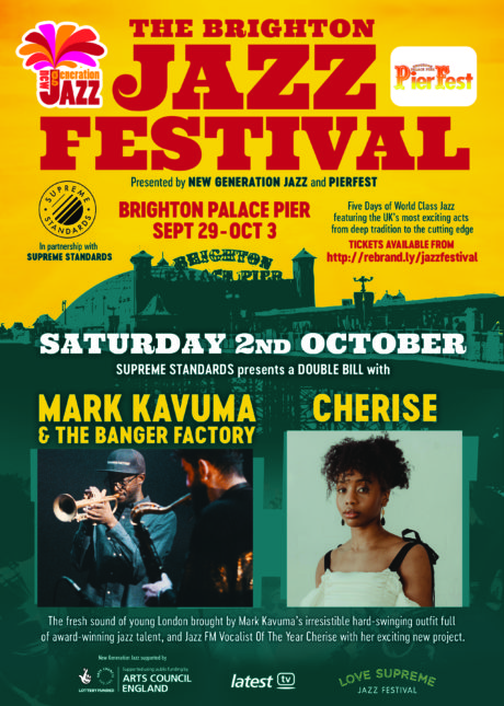 Supreme Standards Presents: Mark Kavuma & The Banger Factory and Cherise